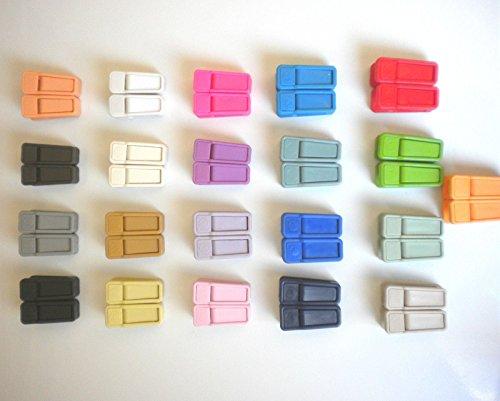 Joy Mangano Huggable Hangers Clips ( Set of 24 Clips) (Cedar Door Knob compare prices)