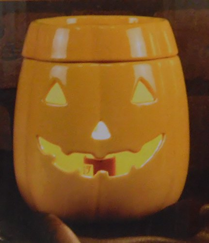 Tuscany Halloween Jack O Lantern Candle Wax Warmer Plug in with Bulb