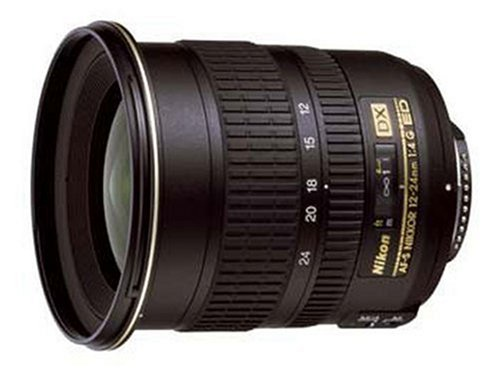 Nikon 12-24mm f/4 G ED IF Autofocus DX Nikkor Zoom Lens