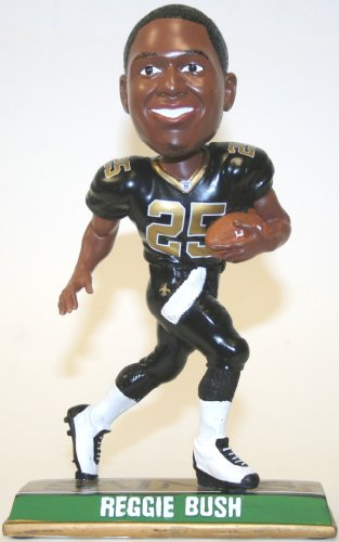 Reggie Bush New Orleans Saints 2010 End Zone Bobble Head Doll at Amazon.com