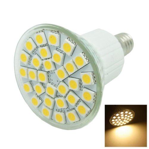 E14 5.5W 3500K 360-Lumen 30 X 5050 Smd Led Warm White Light Bulb (85~265V)