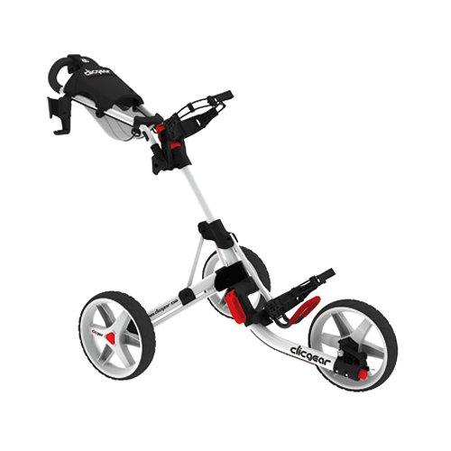 Clicgear Tolley 3.5 - Silver / Silber - Drei-Rad-Golftrolley Push Cart