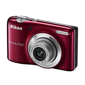 Nikon COOLPIX L25 Point & Shoot (Red)