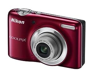 Nikon Coolpix L25 Appareil photo numérique 10,1 Mpix Zoom optique Nikkor 5x Rouge