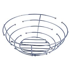 Novicz Stailess steel Designer Tableware Fruit Bowl Modern Fruit Basket Kitchen Dining Fruit Plate Fruit Tray ...
