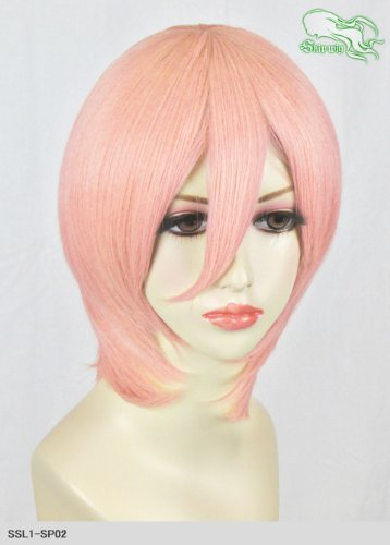 スキップウィッグ 魅せる シャープ 小顔に特化したコスプレアレンジウィッグ マシュマロショート イチゴミルク