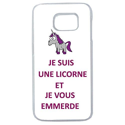 Aux-Prix-Canons-Etui-housse-coque-humour-licorne-je-t-emmerde-Samsung-Galaxy-S7