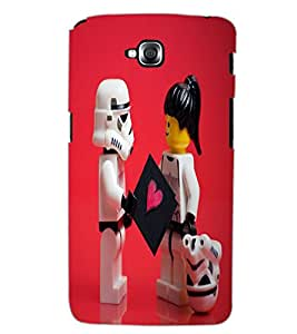 LG G PRO LITE CARTOONS Back Cover by PRINTSWAG