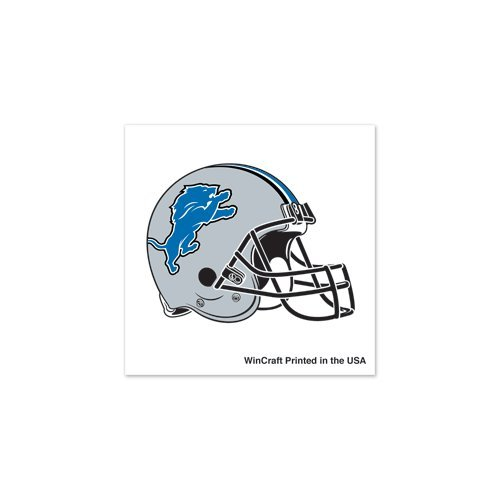Detroit Lions 4-Pack Face Tattoos - 1