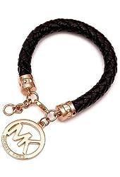 1 X 2014 New Fashion Letter Exquisite Luxury Charm Bracelets (Black) by Preciastore