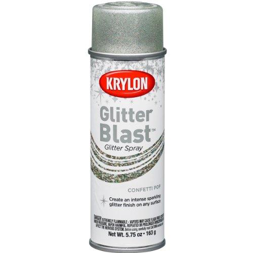 Krylon K03816 Glitter Blast, Confetti Pop