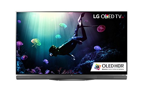 LG Electronics OLED65E6P Flat 65-Inch 4K Ultra HD Smart OLED TV (2016...