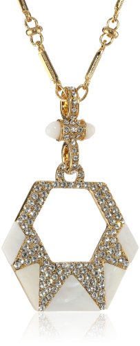 """Carolee LUX """"Party Crasher"""" Pendant Necklace"""
