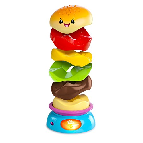 Bright Starts Giggling Gourmet Stack 'n Spin Burger