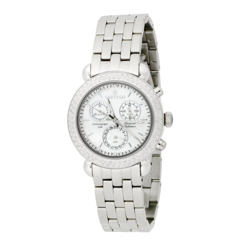 Sartego Women's SDMP387S Diamond Collection Swiss Quartz Movement Watch