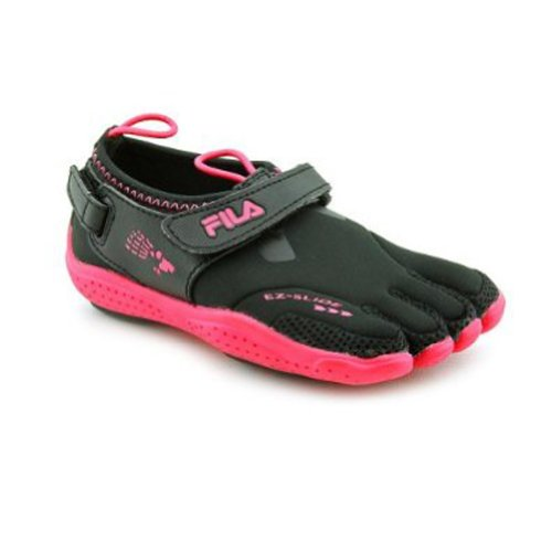 Fila Womens Skeletoes EZ Slide Drainage Running Shoes
