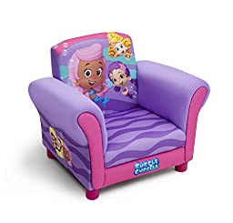Delta Children Upholstered Chair, Nick Jr. Bubble Guppies