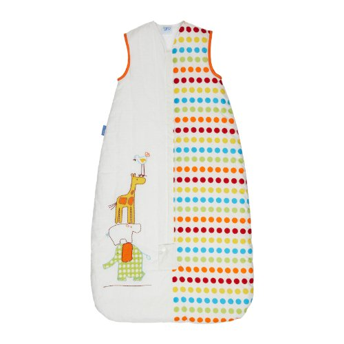 Grobag Baby Sleeping Bag 2.5 Tog, Dotty Day Out, 18-36 Months