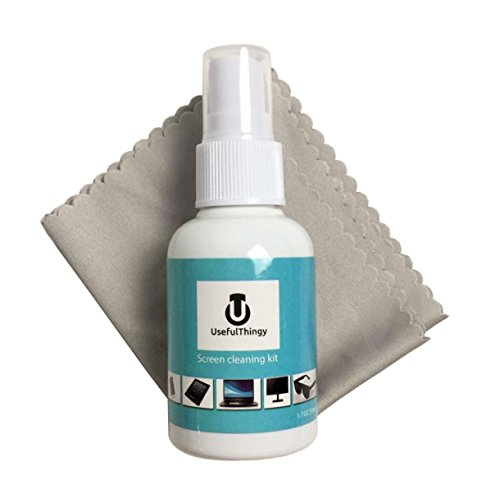 Screen Cleaner Kit. Best For Laptop, Eyeglass, TV, Smartphone, iPad, Kindle, Touch Screens. 1 Cleaning Spray + 1 Microfiber Polishing Cloth. Streak Free (Screen Cleaner Liquid compare prices)