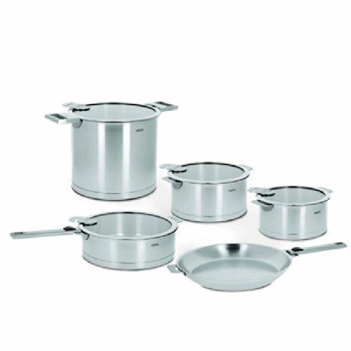 Cristel Strate 13-Piece Stainless Steel Cookware Set