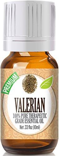 Valerian 100% Pure, Best Therapeutic Grade Essential Oil - 10ml