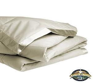 Pacific Coast Pacific Coast Down Blanket, Cream, 100% Cotton, Twin - 66 x 96 inches