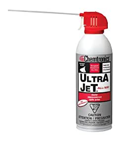chemtronics ultrajet air duster spray 226 g aerosol can es1620 price is per can. Black Bedroom Furniture Sets. Home Design Ideas