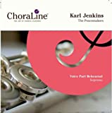 ChoraLine Voice Part Rehearsal Recordings Karl Jenkins The Peacemakers SOPRANO Voice Part Rehearsal CD