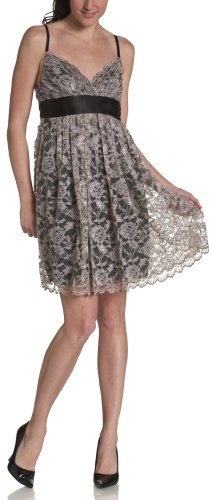 Necessary Objects Juniors' Lace Babydoll Dress