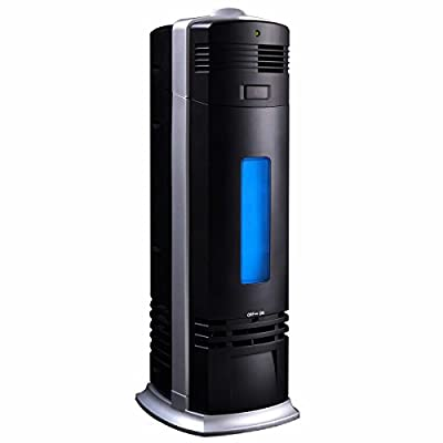 Pro Air Purifier Carbon Ionic Ionizer Negative Fresh Ions Breeze Black