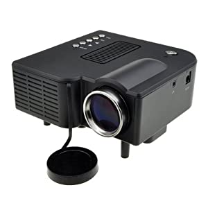 Mini Multimedia LED Projector with Media Player/Mp3/Mp4 AV-in Speaker