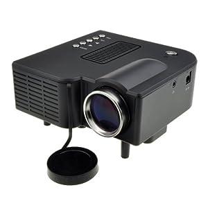 Mini Multimedia LED Projector with Media Player/Mp3/Mp4 AV-in Speaker