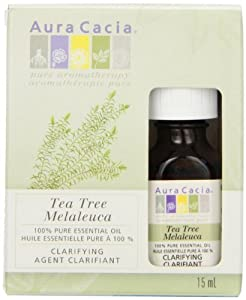 Aura Cacia Coop Tea Tree Essential Oil, 0.06 Pounds