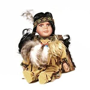 Native American Doll from the Cathay Collection, 8, Assorted Colors
