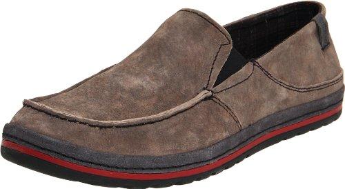 Simple Men's Over Easy Slip-On Loafer,Charcoal,10 M US