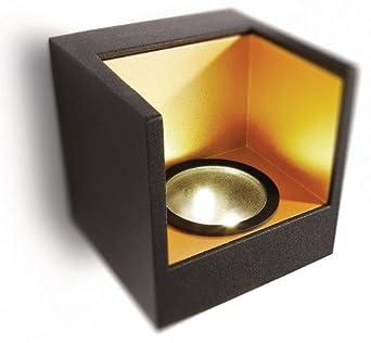 philips ledino wandleuchte mit 2 5w inklusive led leuchtmittel 2 flammig 690863016 us194. Black Bedroom Furniture Sets. Home Design Ideas