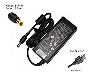 """Laptop Notebook Charger forSamsung CORONA CPA09-002A E352 GS6000 GT6000Adapter Adaptor Power Supply """"Laptop Power"""" Branded (Inc Power Cable)"""