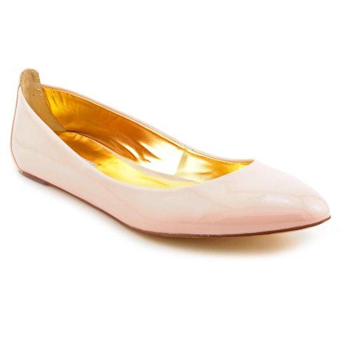 Ted Baker Carum2 Ballet Flats Shoes Nude Womens New/Display