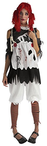 Rubies Womens Storybook Rag Doll Theme Party Fancy Dress Halloween Costume