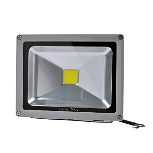 2 Pcs 20W Led Waterpoof Outdoor Security Floodlight 85-265 V Ac Cool White