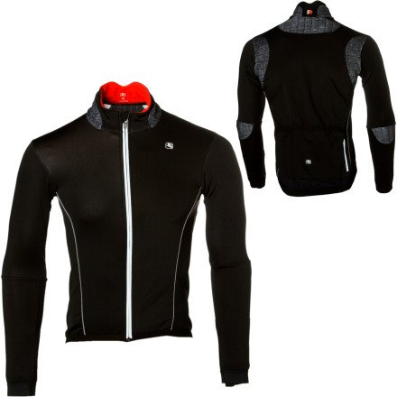 Buy Low Price Giordana Forma Red Thermal Cycling Jacket FR-C XXL Black (GiFRCTherJkt2010)