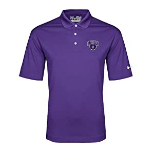 Central Arkansas Under Armour Purple Performance Polo