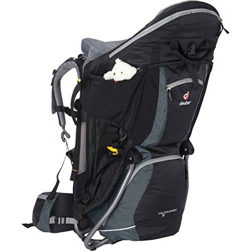 Best Prices! Deuter Kid Comfort III Child Carrier - Black/Granite