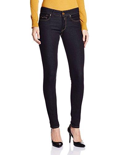 Replay Damen Skinny Jeanshose Luz Gr. W28/L30 (Herstellergröße: 28) Blau (Blue Denim 7) thumbnail