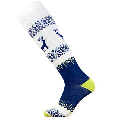Warm Ski Socks - Ugly Sweater Deer