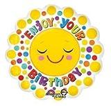 Anagram International Hx Jmb Enjoy Your Birthday Balloon, 28