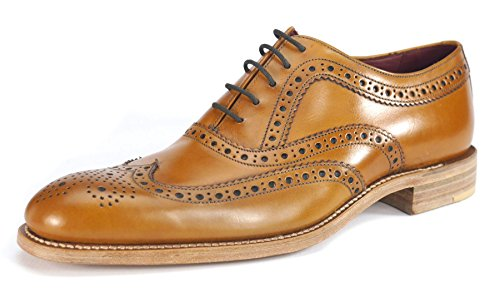 loake-fearnley-mens-formal-lace-up-shoes-10-tan-burnished