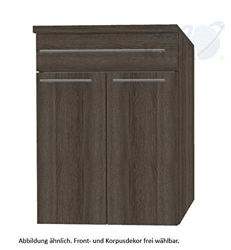 Crescendo Puris (HBA556A7W Bathroom Cabinet 60 CM