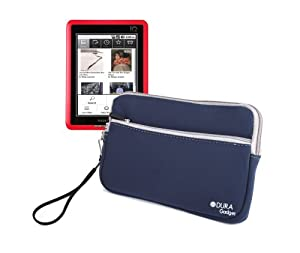 Protective eReader Sleeve For Pocketbook Pro 602, IQ 701, 360° & Acer Iconia Tab A100 With Wrist Strap By DURAGADGET at Electronic-Readers.com