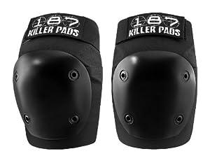 187 Killer Fly Knee Pads - Black by 187 Killer